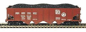 Bowser H21a 4-Bay Hopper Pennsylvania Railroad #138009 HO Scale Model Train Freight Car #40779