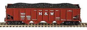 Bowser H21a Hopper Norfolk & Western #135521 HO Scale Model Train Freight Car #40791