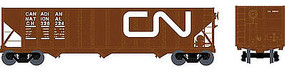 Bowser 100 Ton Hopper Canadian Nationa #326283 HO Scale Model Train Freight Car #41009
