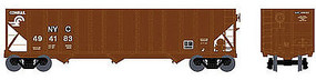 Bowser 100-Ton 3-Bay Open Hopper Conrail NYC #494183 HO Scale Model Train Freight Car #41011