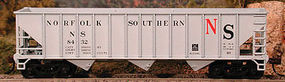 Bowser 70 Ton Hopper Norfolk Southern #8461 HO Scale Model Train Freight Car #41263