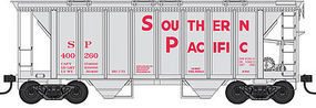 Bowser 70 ton 2 bay Hopper Southern Pacific #400303 HO Scale Model Train Freight Car #41334