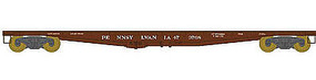 Bowser F30a Flatcar Pennsylvania RR #473795 HO Scale Model Train Freight Car #41421