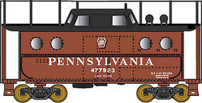 Bowser N5c Caboose Pennsylvania RR #477928 HO Scale Model Train Freight Car #41442