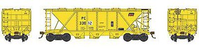Bowser H30 Covered Hopper Penn Central #33812 HO Scale Model Train Freight Car #41456