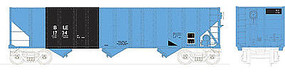 Bowser 100 ton 3-Bay Hopper Bessemer & Lake Erie #163 HO Scale Model Train Freight Car #41490