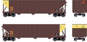 Bowser 100-Ton 3-Bay Open Hopper Pittsburgh Power & Light HO Scale Model Train Freight Car #41511