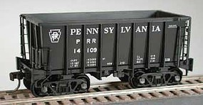 Bowser Class G-39 70-Ton Ore Jenny with Crown Trucks - Ready to Run Pennsylvania Railroad 14014 (black, Spelled-Out Roadname)