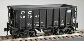 Bowser Class G-39 70-Ton Ore Jenny with Crown Trucks - Ready to Run Penn Central 501449 (black, Small Logo)