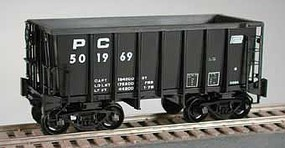 Bowser Class G-39a 70-Ton Ore Jenny with Friction-Bearing Trucks - Ready to Run Penn Central 502814 (black, Small Logo)