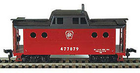 Bowser PRR N-5C Caboose - Kit - Pennsylvania Railroad #2 HO Scale Model Train Freight Car #54020