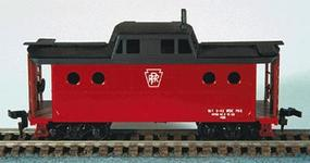 Bowser N5C Caboose Pennsylvania New Style No Number (Red) HO Scale Model Train Freight Car #54027