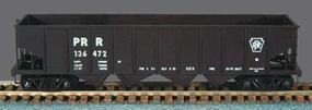 Bowser H-21a 4-Bay Hopper Pennsylvania RR (Block Lettering) HO Scale Model Train Freight Car #54058