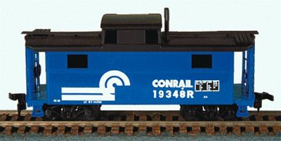 Bowser Manufacturing Co. N5 Caboose Conrail Kit -- HO Scale Model Train Freight Car -- #55010