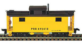 Bowser N-5 All-Steel Caboose Kit Pennsylvania Railroad HO Scale Model Train Freight Car #55030