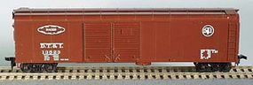 Bowser 50 Round Roof Double-Door Boxcar DT&Ironton HO Scale Model Train Freight Car #55405