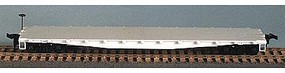 Bowser Pennsylvania RR 50 Class F-30a Flat Car Undecorated HO Scale Model Train Freight Car #55950