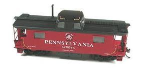 Bowser N8 Caboose Pennsylvania Shadow Keystone HO Scale Model Train Freight Car #56304