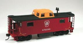 Bowser N-8 Center Cupola Caboose Kit - Pennsylvania HO Scale Model Train Freight Car #56310