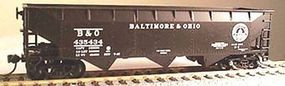 Bowser 70-Ton 3-Bay Offset-Side Hopper Kit Baltimore & Ohio HO Scale Model Train Freight Car #56790