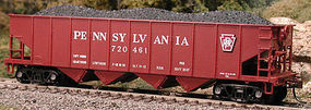 Bowser H-21a Hopper Pennsylvania RR #923303 HO Scale Model Train Freight Car #56814