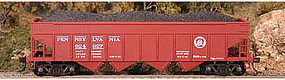 Bowser Pennsylvania Railroad H22a 4-Bay Coal Hopper - Kit HO Scale Model Train Freight Car #56831