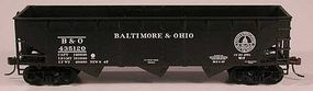 Bowser 70-Ton 3-Bay Offset Hopper Baltimore & Ohio HO Scale Model Train Freight Car #56934