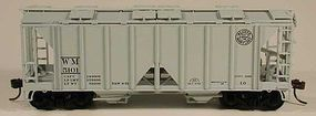 Bowser 70-Ton 2-Bay Covered Hopper Western Maryland HO Scale Model Train Freight Car #56946