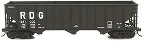 Bowser 100-Ton 45 3-Bay Hopper - Kit - Reading #483522 HO Scale Model Train Freight Car #56971