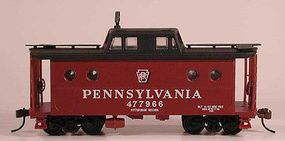 Bowser N5C Caboose Pennsylvania RR #477966 HO Scale Model Train Freight Car #56998