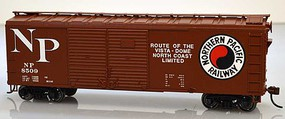 Bowser 40 Gen. Boxcar Northern Pacific #8510 HO Scale Model Train Freight Car #60023