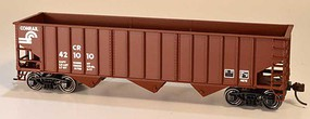 Bowser 14-Panel 3-Bay Hopper - Kit Conrail 421040 (Boxcar Red, Small Logo)