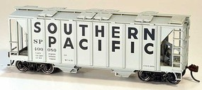 Bowser 70-Ton Covered Hopper, Closed Sides - Kit Southern Pacific 400090 (gray, Billboard Lettering)