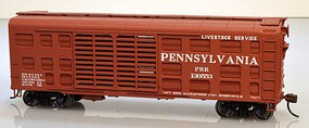 Bowser K11 Stock Car Kit Pennsylvania RR #130559 HO Scale Model Train Freight Car #60134