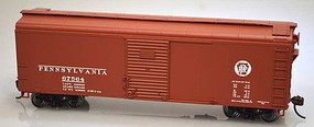 Bowser X-31a Boxcar Pennsylvania RR kit #67547 HO Scale Model Train Freight Car #60135