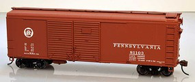 Bowser X-31a Boxcar Pennsylvania RR kit #81196 HO Scale Model Train Freight Car #60146