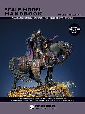 Mr Black Publications Scale Model Handbook- Figure Modelling Vol.6 -- Detailing Model Figure Book -- #6