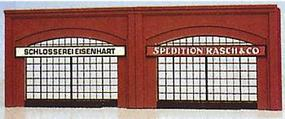 Brawa Arcade Arched Walls w/Recesses (2) Model Railroad Miscellaneous Scenery #2881