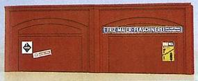 Brawa Arcade Arched Walls w/Enclosed Windows (2) Model Railroad Miscellaneous Scenery #2882