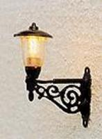 Brawa Old-Time Lantern Light Wall-Mounted HO Scale Model Railroad Street Light #5353