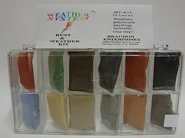 Brag 1/2oz. Small 12 Color Weathering Set