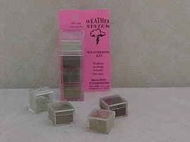 Brag 1/2oz. Small 4 Color Weathering Set (Ash, Grimy Grey, Dust Bowl Brn & Weathered Brn)