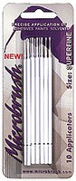 Brushes MicroBrush MHS10- Superfine Applicator (10/cd, 12cds/Bx)