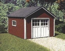 Branchline Garages & Sheds - Hudson Garage Kit O Scale Model Railroad Building #432