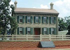 Branchline The Lincoln House Laser-Cut Wood Kit HO Scale Model Railroad Building #626