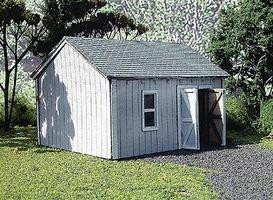Branchline Tool Shed Laser-Art Kit HO Scale Model Railroad Building #633