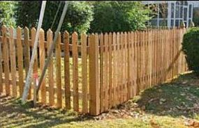 Branchline Gothic Std Picket Fence - O-Scale