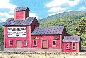 Branchline Nickels Feed Mill Kit N Scale Model Railroad Building #892