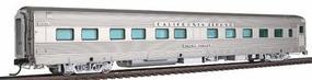 Broadway Zephyr CB&Q 10 Roomettes Silver Valley HO Scale Model Train Passenger Car #1510