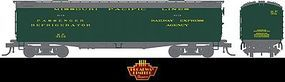 Broadway 536 Wood Express Reefer Missouri Pacific #3112 HO Scale Model Train Freight Car #1833